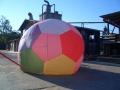 Modellballonbau_Hülle_Ball_erstesAufrüsten_04