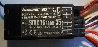 Empfänger SMC 16scan